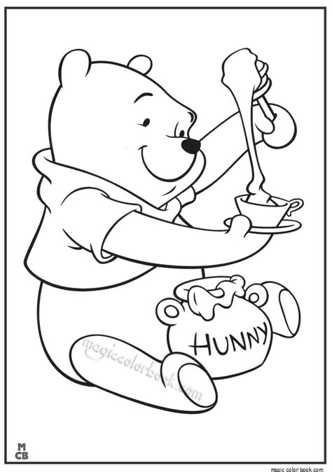 Winnie The Pooh Birthday Coloring Pages 03 Long Hairstyles Winnie The Pooh Coloring Book