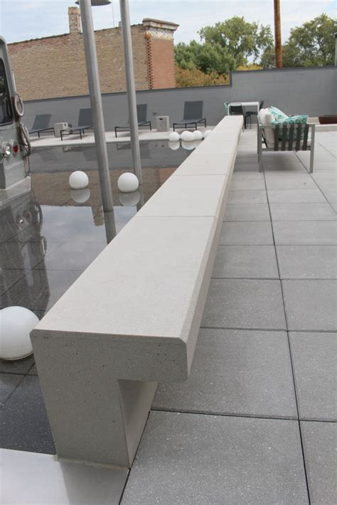 concrete benches with backs custom concrete benches fit pit seating concrete bar