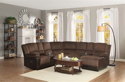 chocolate brown textured velvet corner sofa sectional homelegance hankins sectional sofa chocolate textured