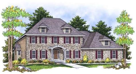 simple decoration 5 bedroom colonial house plans this