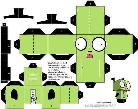 Cube Paper Craft - 1000 images about cubecraft on papercraft