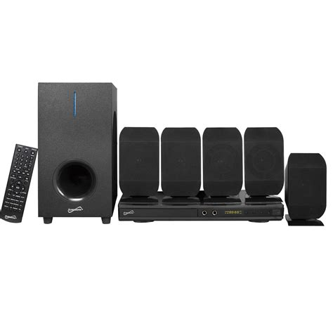 supersonic   channel dvd home theater system