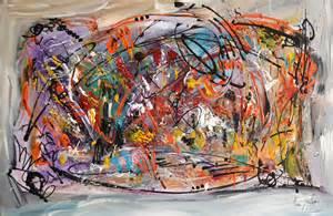 tableaux design abstrait tableau abstrait design multicolore peinture moderne coloree