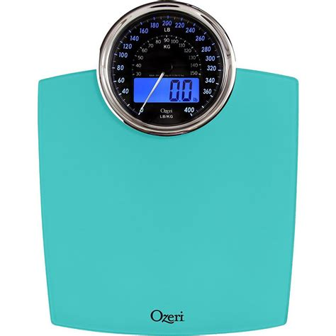 ozeri bathroom scale ozeri rev digital bathroom scale with electro mechanical weight dial zb19 t the home