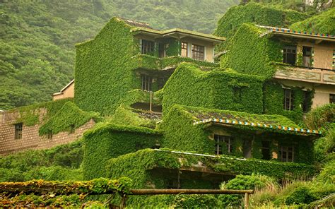 abandoned cities in china china s lush green ghost town travel leisure