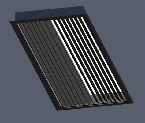 Ceiling Louvers Vents by Revitcity Object Rectangular Ceiling Vent