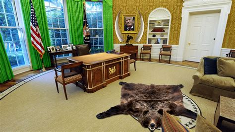 redesign oval office will donald cover the white house in gold marketwatch