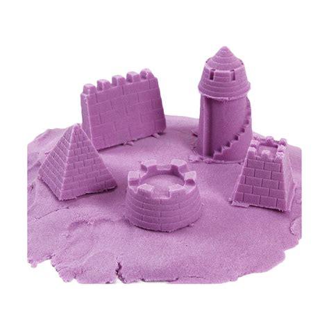 Pasir Kinetik Jumbo 2 Kg jual model sand pasir kinetik jumbo ungu 2 kg