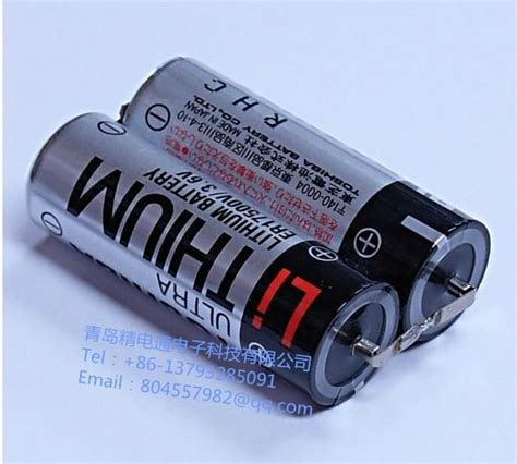 Ac 3 4 Pk Toshiba toshiba lithium battery er17500v 2 pack 3 6v 5400mah