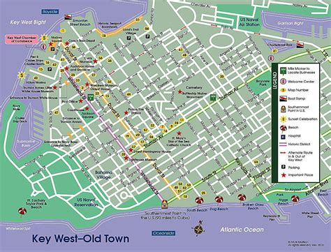 printable map key west key west street map map of key west the dis discussion