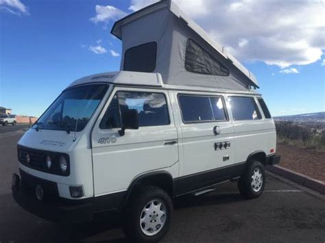 Dometic Awning Parts Canada 1990 Vw Vanagon Syncro Camper For Sale In Colorado Springs Co
