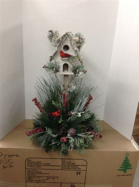 christmas birdhouse christmas pinterest
