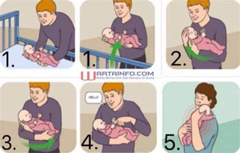 Wanita Gendong Bayi Viral cara menggendong bayi menurut usianya baru lahir 6