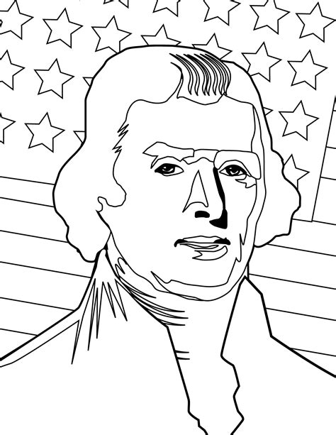 Jefferson Coloring Pages jefferson coloring pages az coloring pages
