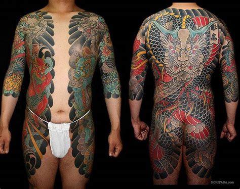 korean full body tattoo japanese style bodysuit