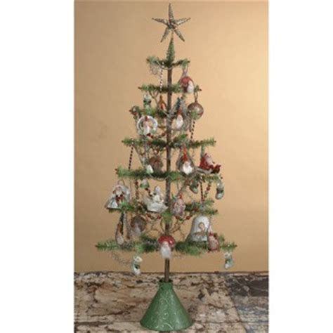 new 48 inch vintage christmas goose feather tree bethany
