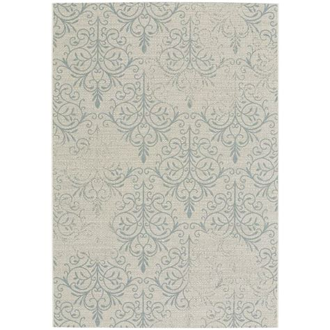 Capel Rugs Home by Capel Elsinore Heirloom Blue 7 Ft 10 In X 11 Ft Area