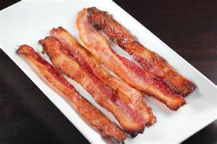 how to baked bacon
