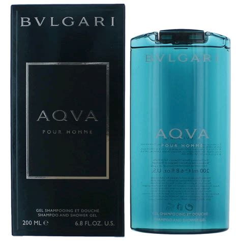Parfum Bvlgari Aqva Pour Homme Ori aqva pour homme cologne by bvlgari 6 8 oz shoo and shower gel new ebay