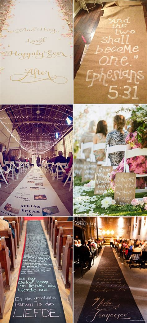 Wedding Aisle Quotes by 40 Great Wedding Aisle Ideas For Your Big Day