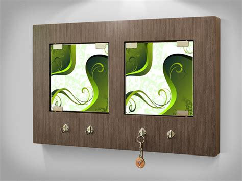 modern key holder wall panel contemporary other metro
