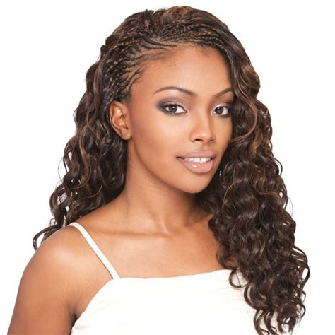 braided updo hairstyle with wet and wavy hair 80 best images about micro braids on pinterest curled