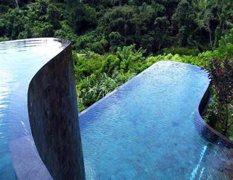 infinity pools bali curio world infinity pool of ubud hanging gardens hotel