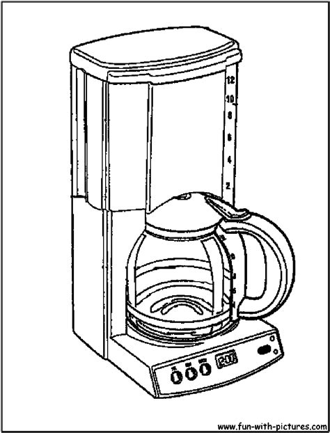 coloring page maker from photos how to draw coffee maker