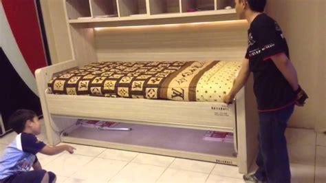 Meja Untuk Lu Tidur hidrolik tempat tidur jadi meja belajar