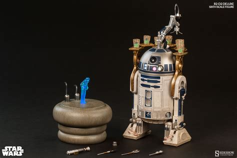 wars collectibles r2 d2 deluxe sideshow wars collectible