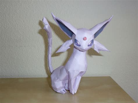 Espeon Papercraft - espeon papercraft by dustofstarz on deviantart