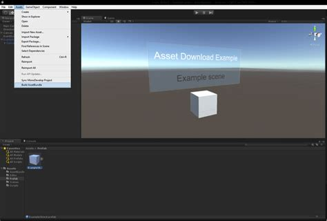 unity tutorial asset bundle unity asset step seq dirty weekend hd