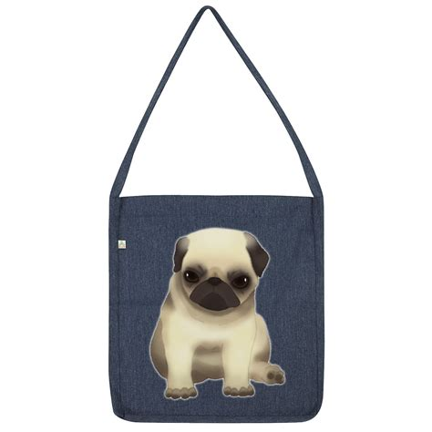 grumpy pug twisted envy grumpy pug tote bag ebay