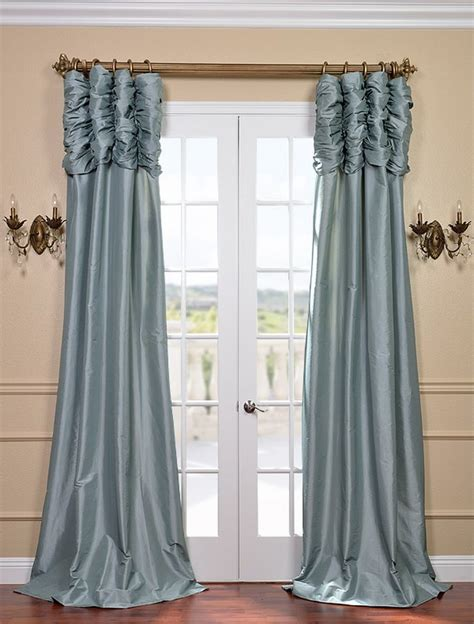 Ruched Top Curtains Decor My Style Pinterest