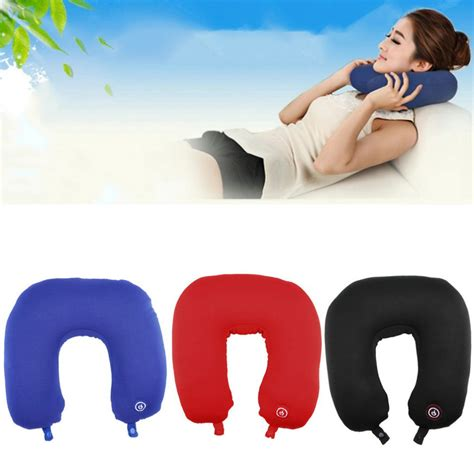 Travel Pillow Bantal Mobil Bantal Travel Bantal U Bantal Leher neck cushion massager pillow bantal pijat ganjal leher