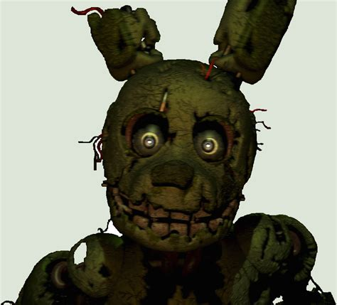 imagenes para colorear fnaf 191 springtrap estuvo en fnaf 1 y 2 five nights at freddy