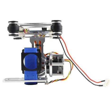 Aksesoris Gopro 4 Silver light dji phantom gopro cnc brushless motor gimbal with bgc controllerrtf silver