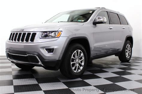 Certified Used Jeep Grand 2014 Used Jeep Grand Certified 4wd V6 Limited