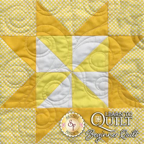 Learn To Quilt Kit by Learn To Quilt Series Beginner Quilt Kit