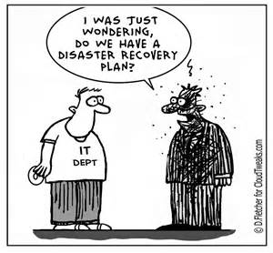 disaster recovery 5 reasons plans fail