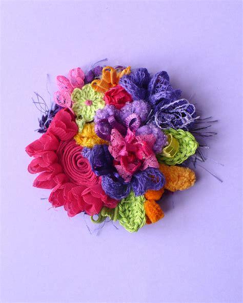 fiori in tessuto fiore creazioni e decorazioni bijoux