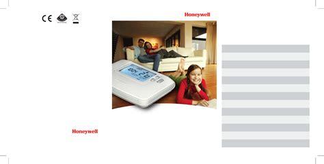 Honeywell Help Desk by Honeywell Thermostat Cm907 User Guide Manualsonline