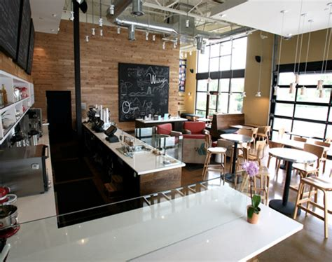 coffee shop design and construction thatcher s coffee shop showcases recycled design