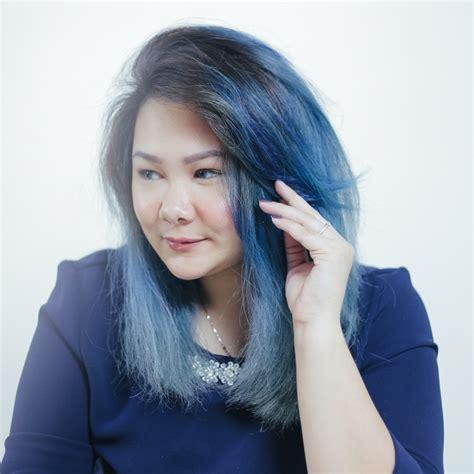 tutorial ombre rambut tanpa bleaching warna ombre rambut blue and black 25 model gaya rambut