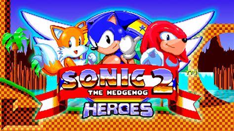 sonic heroes sega genesis sonic the hedgehog 2 heroes sega mega drive genesis