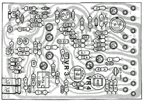 Efek Gitar Noise Gate nf 1 noise gate guitar pedal schematic diagram