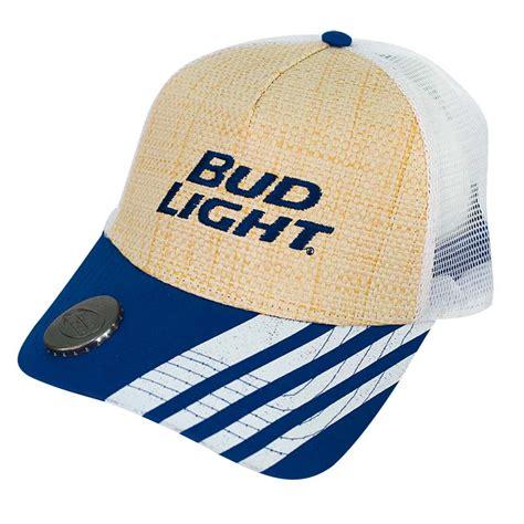 Bud Light Hats Bud Light Woven Bottle Opener Hat