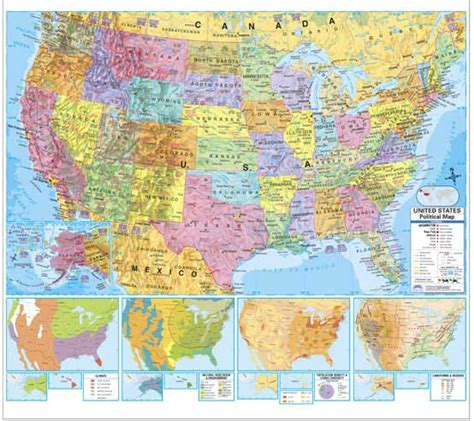 printable united states political map 50 states map printable