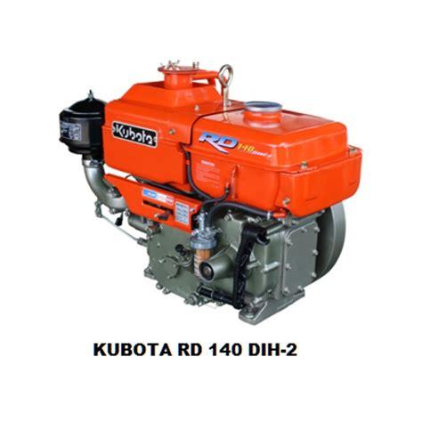 Mesin Diesel Kubota harga jual kubota rd 140 dih 2 mesin diesel