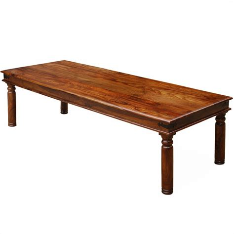 large wooden kitchen table large rustic furniture solid wood dining table transitional style dining tables by